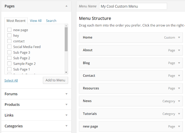 Everything You Need to Know About Changing WordPress Themes - Navigation