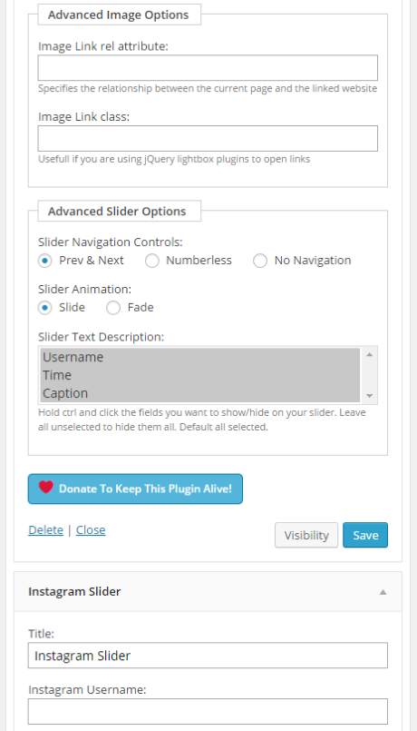 Four Ways to Better Integrate Instagram Into Your WordPress Site - Instagram Slider Widget 3