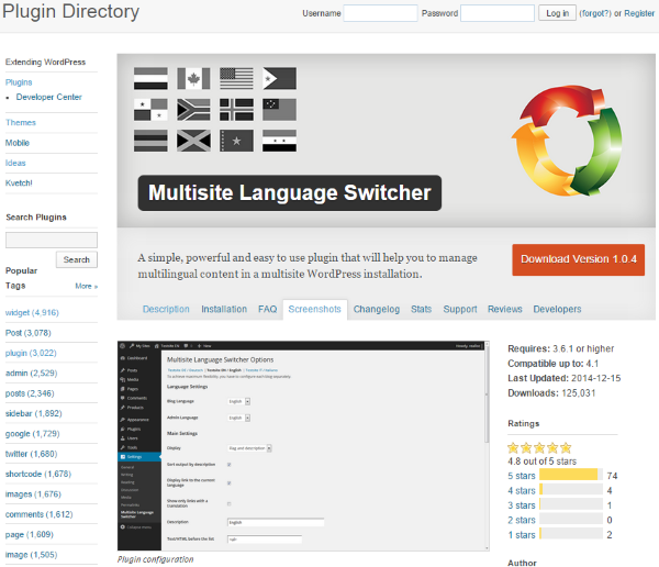 How To Make Your WordPress Website Multi-Lingual - Multisite Language Switcher