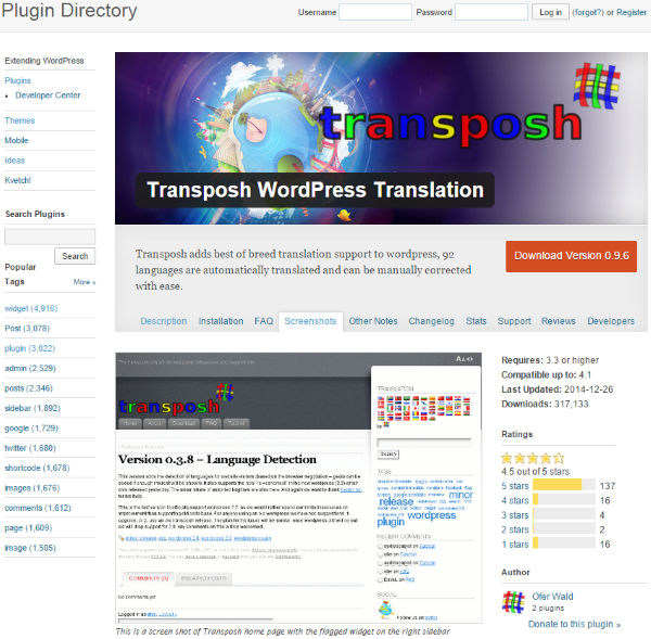 How To Make Your WordPress Website Multi-Lingual - Transposh