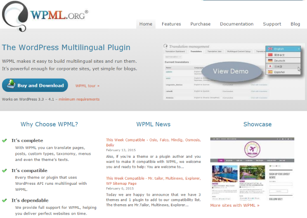 How To Make Your WordPress Website Multi-Lingual - WPML