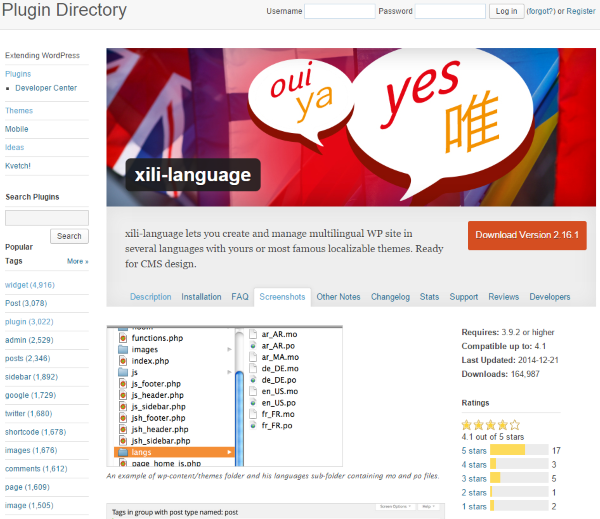 How To Make Your WordPress Website Multi-Lingual - xili-language