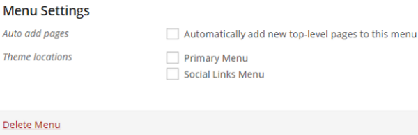 How to Create Custom Menu Structures in WordPress - Social Links