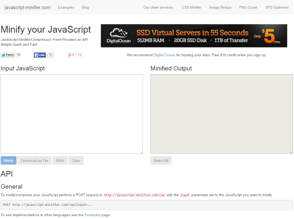 How to Minify Your Websites CSS, HTML & Javascript - JavaScript Minifier