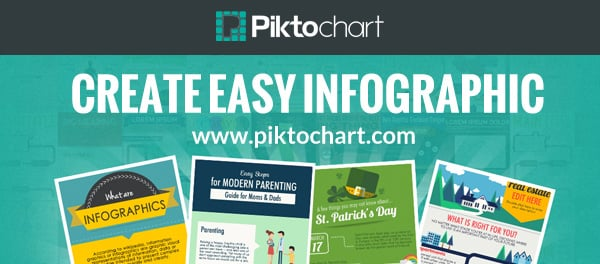 create and share infographics on WordPress by using Piktochart