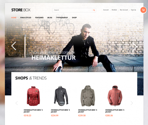 Storebox WooCommerce THeme