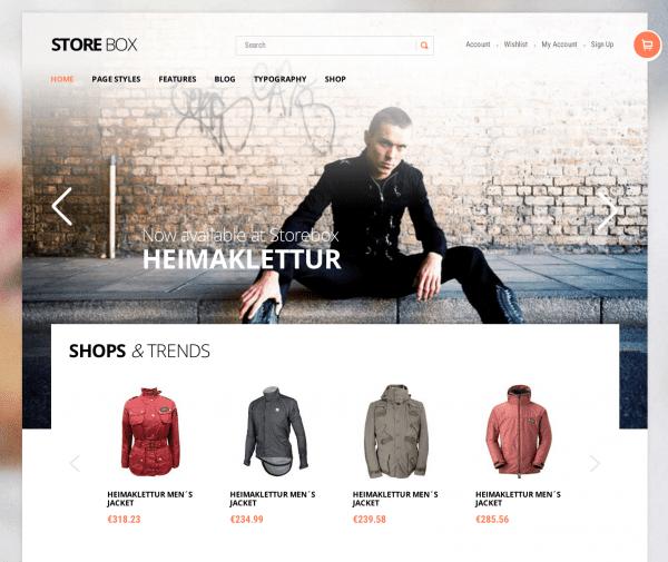 Storebox WooCommerce THeme