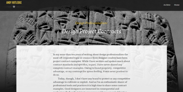 Where To Find Web Design Contract Templates For Web Design Projects - Design Professionalism Contract Templates