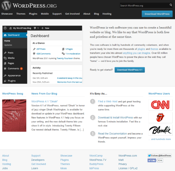WordPress vs. Joomla – What is WordPress and Who is it For