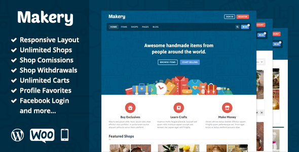 Makery WooCommerce Theme