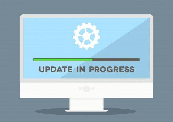 WordPress maintenance update