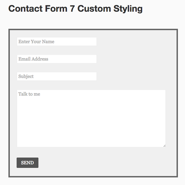 Customize contact form 7 thesis