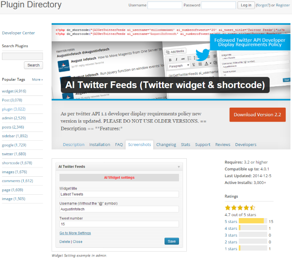 How To Add A Twitter Feed To Your WordPress Website - AI Twitter Feeds (Twitter widget & shortcode)