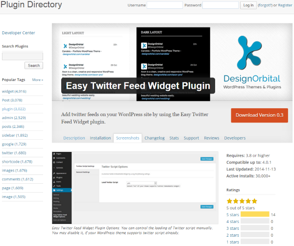 How To Add A Twitter Feed To Your WordPress Website - Easy Twitter Feed Widget Plugin