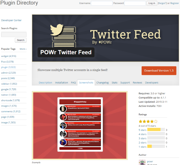 How To Add A Twitter Feed To Your WordPress Website - POWr Twitter Feed