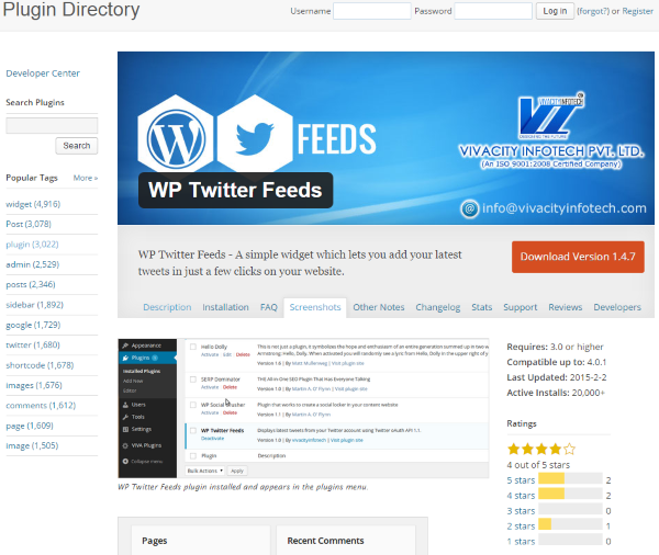 How To Add A Twitter Feed To Your WordPress Website - WP Twitter Feeds