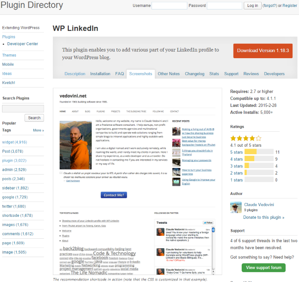 How To Create An Online Resume Using WordPress   WP LinkedIn  Create Resume From Linkedin