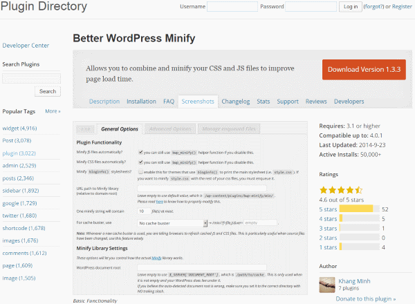 How To Improve Your Google Page Speed Score - Better WordPress Minify