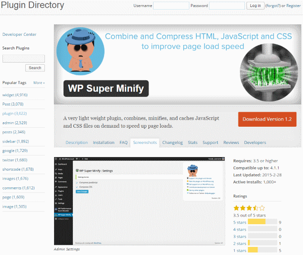How To Improve Your Google Page Speed Score - WP Super Minify