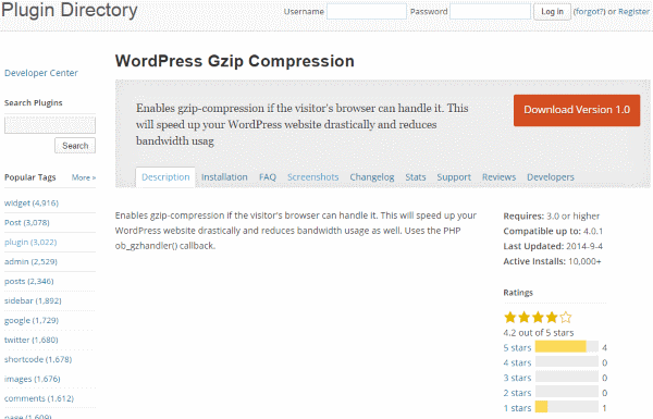 How To Improve Your Google Page Speed Score - WordPress Gzip Compression
