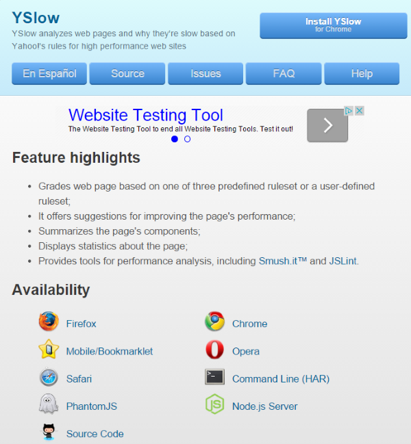How To Improve Your Website's Yahoo Yslow Score - The Yslow Browser Extension