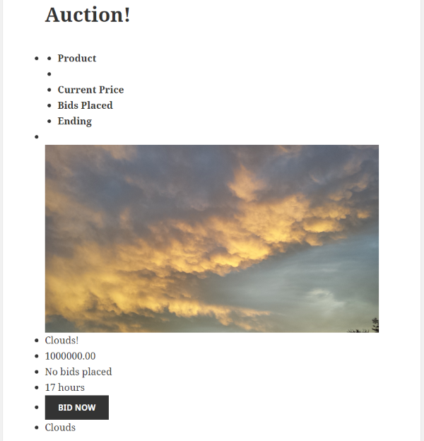 How to Build an Auction Site on WordPress - Ultimate WordPress Auction Plugin 3