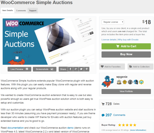 How to Build an Auction Site on WordPress - WooCommerce Simple Auctions