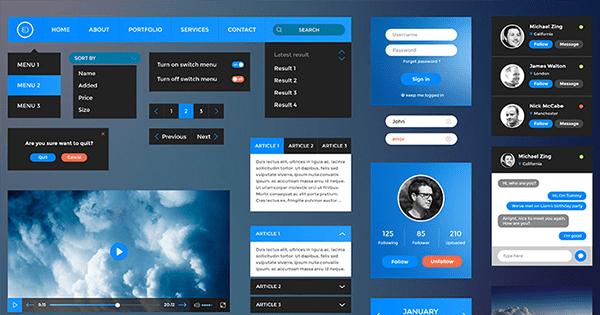 Retina-UI-Web-Kit