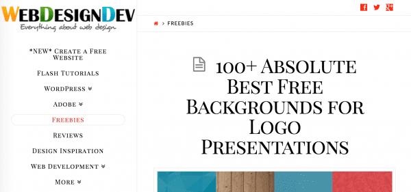find free image and design assets on Web Designer Dev