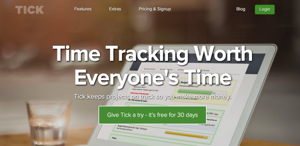 Tick makes time tracking simple