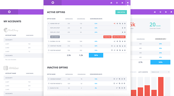 Elegant Themes Bloom - Dashboard