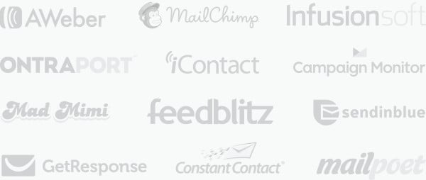 Elegant Themes Bloom - Email Marketing Integrations