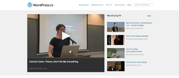 Automattic's WordPress.tv