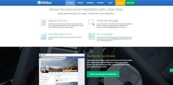 Aweber newsletters