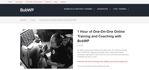 Bob Dunn's BobWP