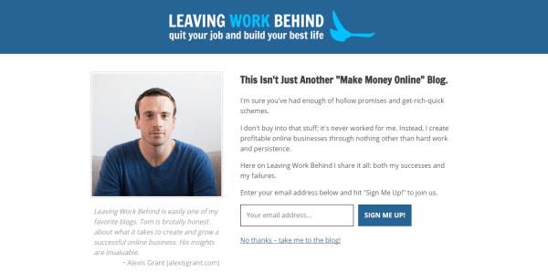LWB landing page