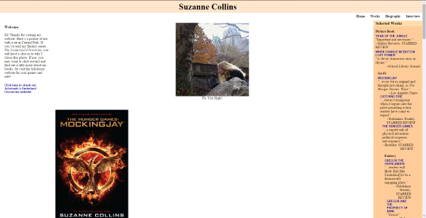 Suzanne Collins' Books