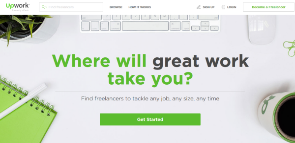 Outsourcing Your Work - Upwork