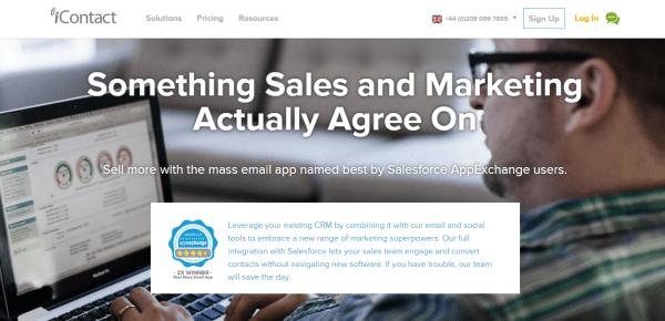 iContact Salesforce