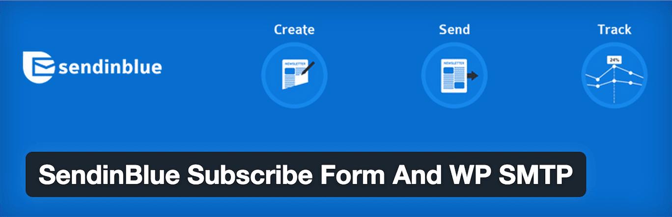 SendinBlue WordPress plugin