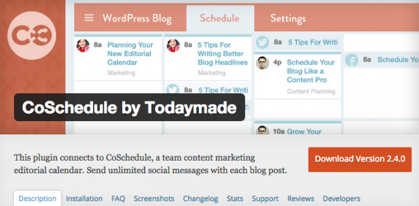 CoSchedule Screenshot