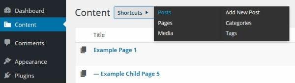 Hierarchy screenshot