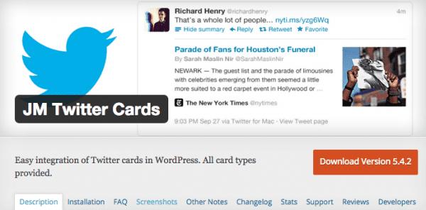 JM Twitter Cards Screenshot