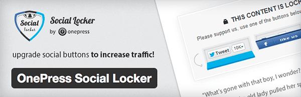 OnePress-Social-Locker