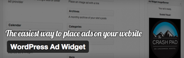 WordPress Ad Widget for selling ad space