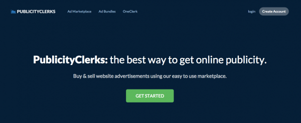 Sell Ad space with PublicityClerks
