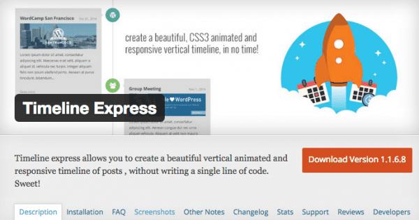 Timeline Express Screenshot