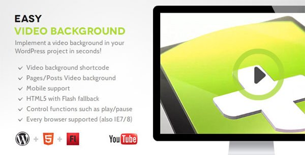 Easy Video Background Plugin