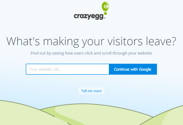 Wordpress with SaaS - Crazyegg