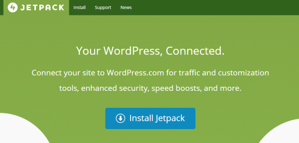 Wordpress with SaaS - Jetpack
